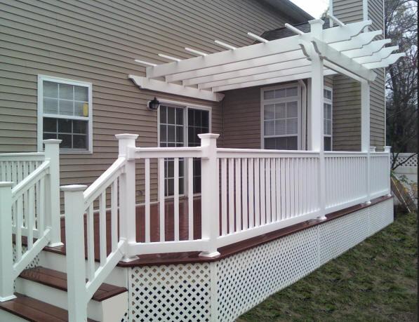 Composite deck composite deck panels for Composite porch decking