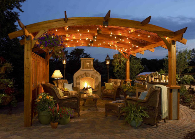 backyard pergola group picture image by tag  : Sonoma20Cedar20Pergola20from20DecksNJ from keywordpicture.com size 656 x 467 jpeg 65kB